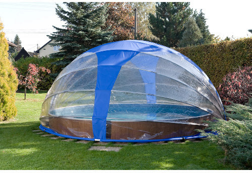 Abri de piscine hors sol comprendrechoisir for Protection piscine hors sol