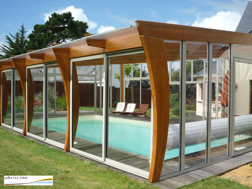 Abri de piscine haut comprendrechoisir for Prix dome piscine