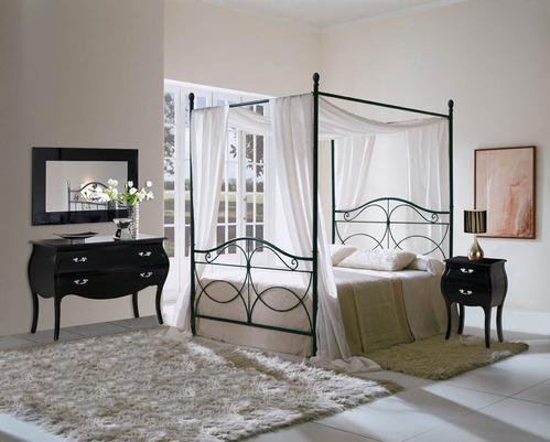 lit en fer forg mod les et prix comprendrechoisir. Black Bedroom Furniture Sets. Home Design Ideas