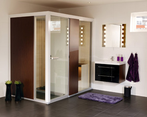 douche sauna infos et conseils sur la douche sauna. Black Bedroom Furniture Sets. Home Design Ideas