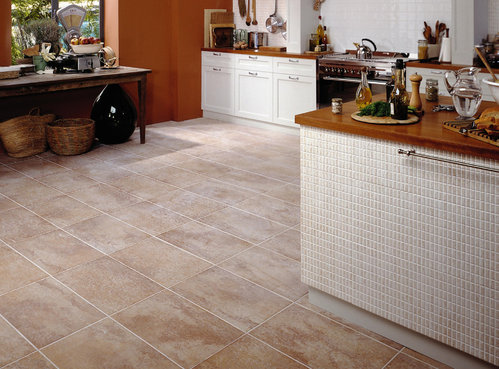 Carrelage sol cuisine contemporaine for Carrelage solde