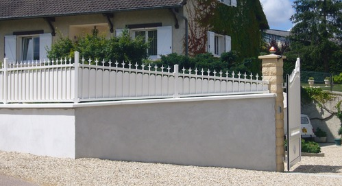 Clture bton et aluminium