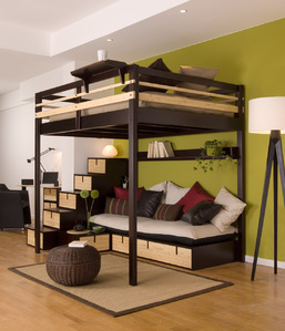 lit double mezzanine quel est le prix d 39 une mezzanine double. Black Bedroom Furniture Sets. Home Design Ideas