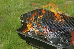 Nettoyer une grille de barbecue barbecue - Astuce pour nettoyer grille barbecue ...