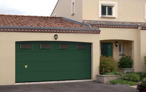 Dimension garage porte de garage electrique for Porte de garage flexidoor