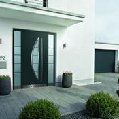 Porte d&#039;entre en aluminium - Top Prestige motif 45 - Hrmann