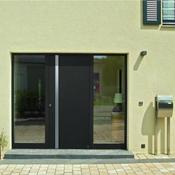 Porte d&#039;entre en aluminium - Top Prestige motif 568 - Hrmann