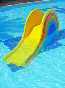Toboggan gonflable pour piscine enterr e r f inx58851 toboggan pictures to pin on pinterest - Toboggan gonflable pour piscine ...